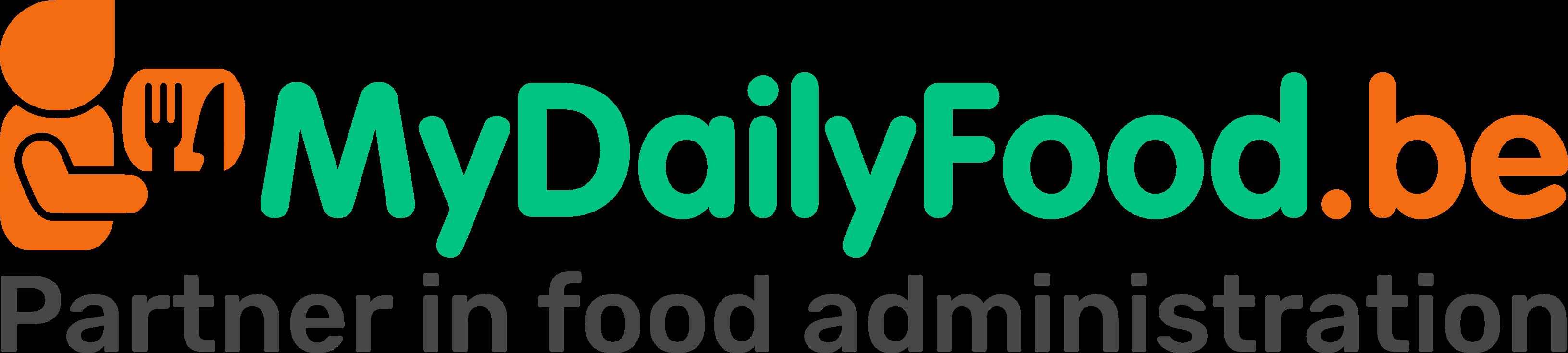 MyDailyFood – Bestelsysteem voor broodjes en warme maaltijden op het werk en op school Logo